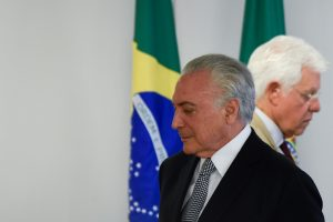 Ex-presidente Michel Temer é preso - Foto: Mateus Bonomi/AGIF/AFP