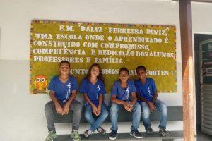 alunos-escola Dalva Ferreira Diniz