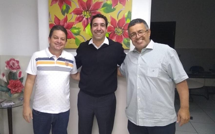 Álvaro Vilaça, Professor Luiz Siqueira e Wagner Oliveira