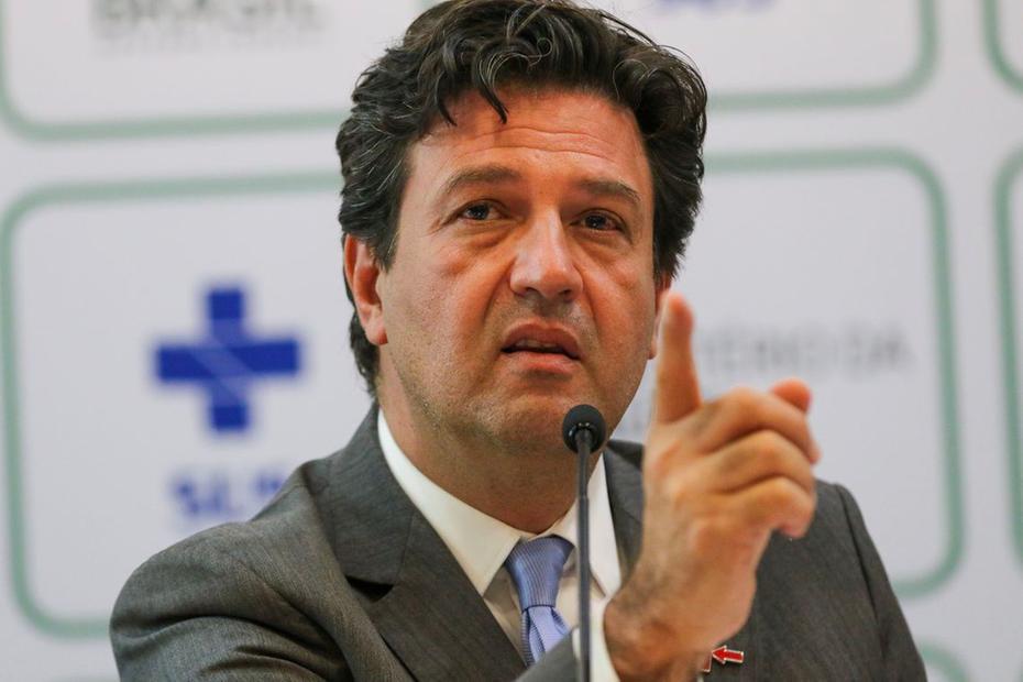 O ministro da Saúde, Luiz Henrique Mandetta  Foto: Fabio Rodrigues Pozzebom/Agência Brasil